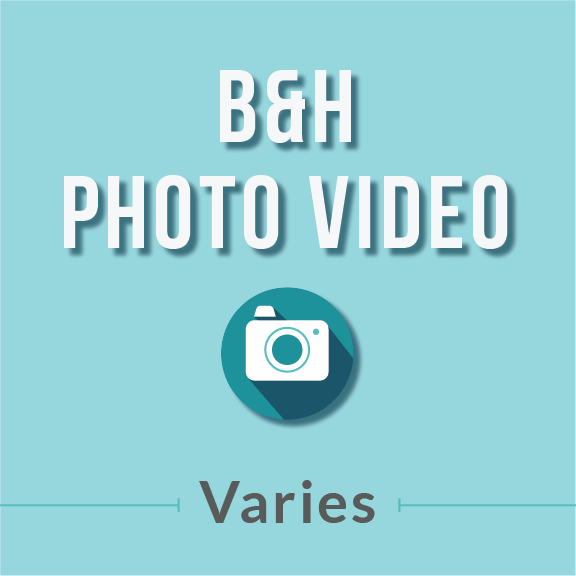 B&H Photo Video Student Discount