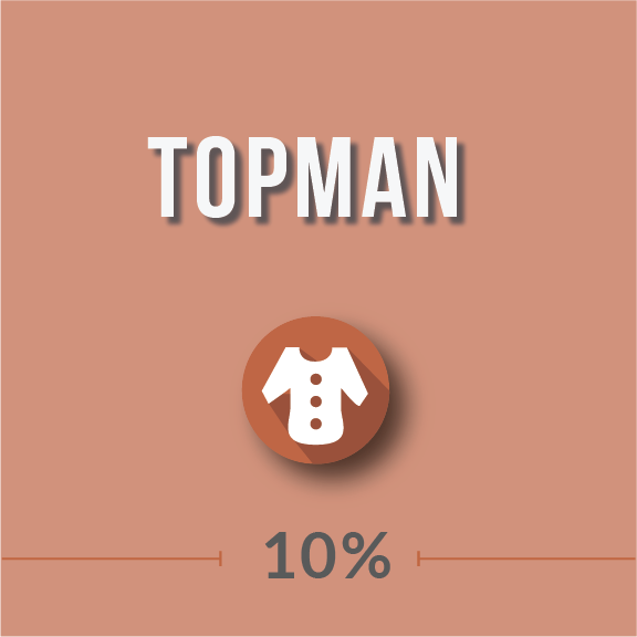 Its products include casual wear, suits and formal wear, shoes and accessories such as bags, hats, scarves and sunglasses. Customers have reviewed Topman positively for its high quality apparel, quick delivery and easy-to-use website. Shoppings Tips for TOPMAN: Free Shipping: Topman offers free shipping on orders over $